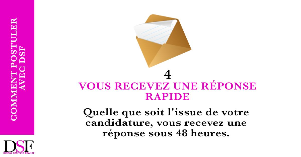 DSF France Trouvez un emploi en 7 étapes recevez une réponse rapide